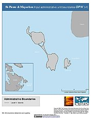 Map: Administrative Boundaries: St. Pierre & Miquelon