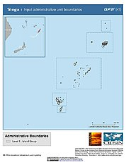 Map: Administrative Boundaries: Tonga