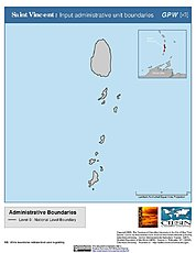 Map: Administrative Boundaries: St. Vincent & the Grenadines