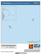 Map: Administrative Boundaries: Wallis & Futuna Islands