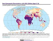 Map: Basic Demographic Characteristics (2010): Children