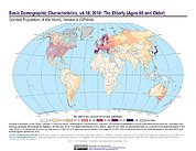 Map: Basic Demographic Characteristics (2010): The Elderly
