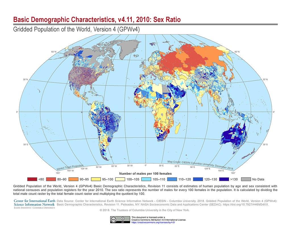 Maps Gridded Population Of The World Gpw V4 Sedac