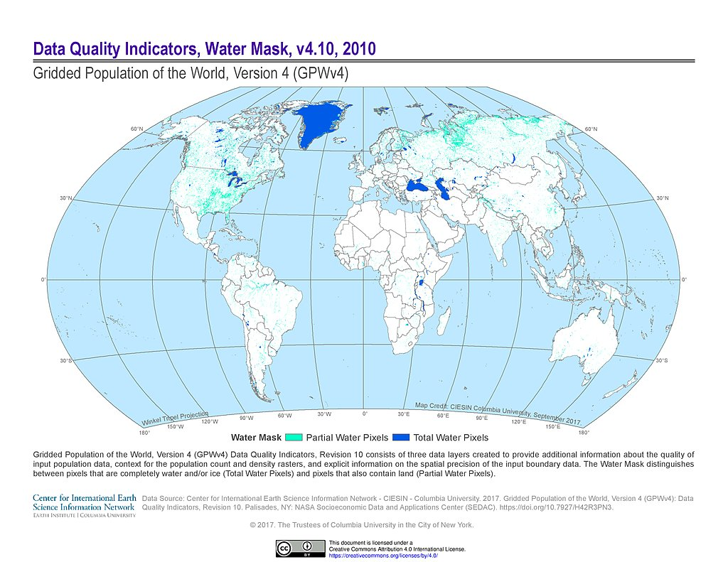 Maps gridded population of the world gpw v4 sedac hi resolution pdf png gumiabroncs Gallery