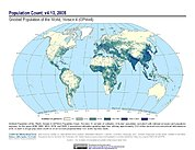 Map: Population Count (2005)