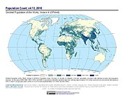 Map: Population Count (2010)