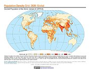 Map: Population Density (2020)