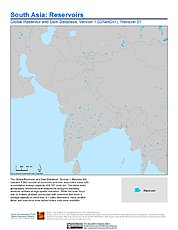 Map: Reservoirs, v1.01: South Asia