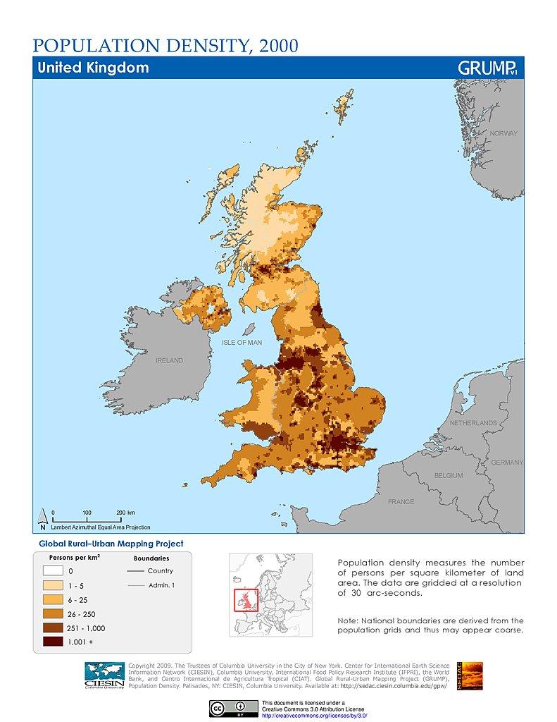Map Of Ireland To New York.Maps Population Density Grid V1 Sedac