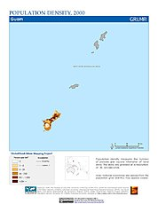 Map: Population Density (2000): Guam