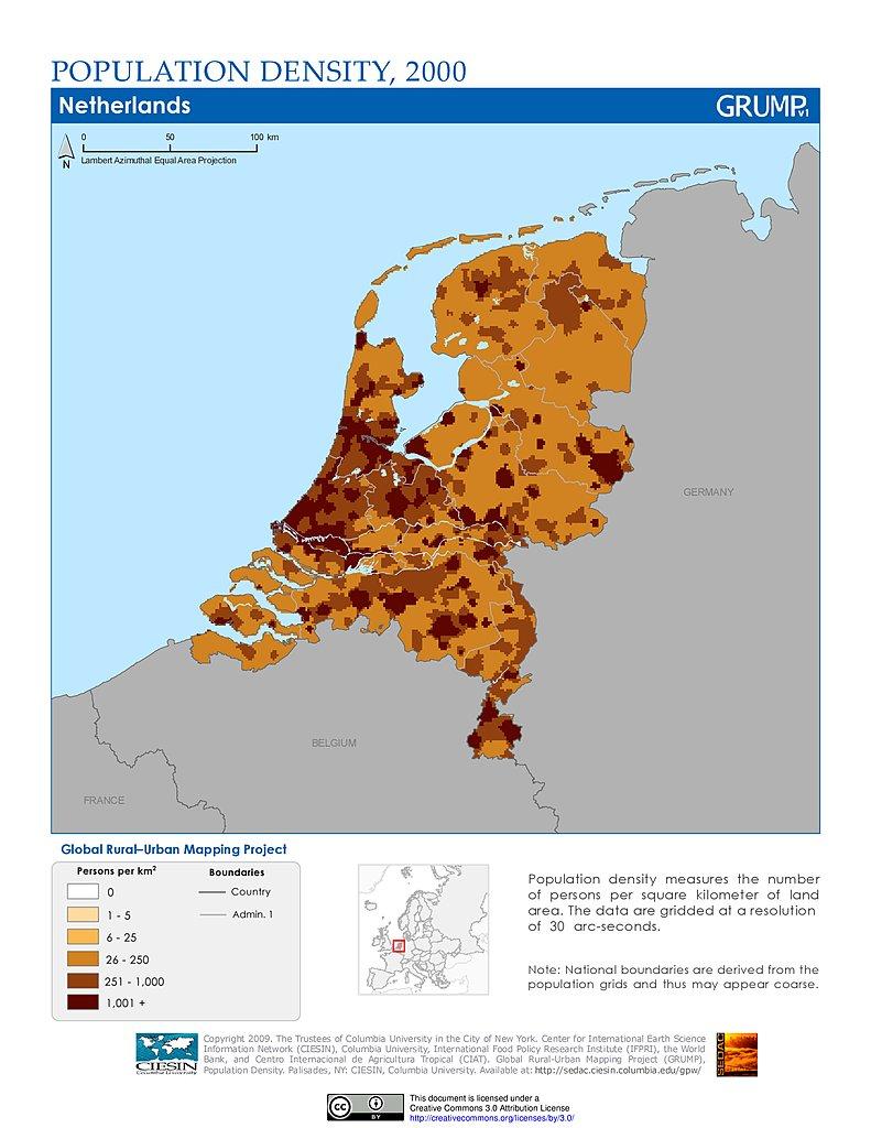 Maps Global RuralUrban Mapping Project GRUMP v1 SEDAC