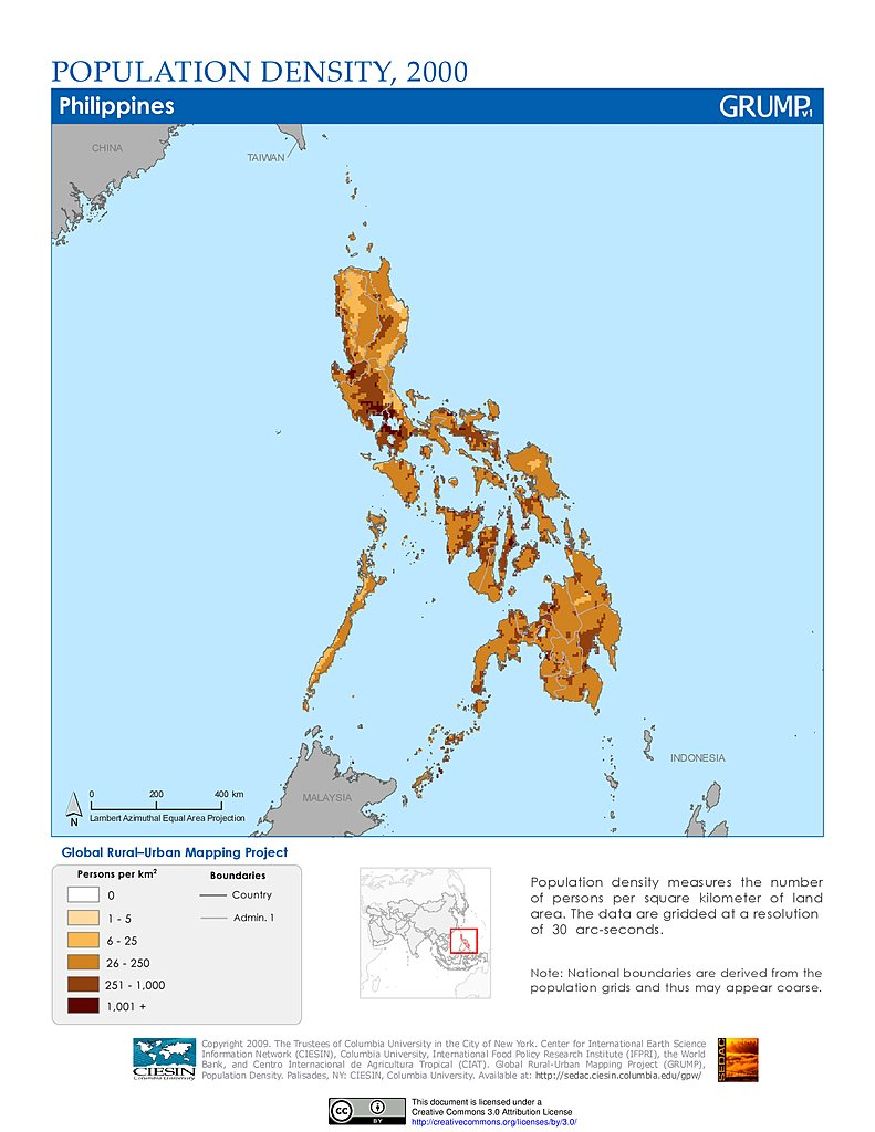 the population of the philippines The information on the ageing population in this country is presented under three sections: 1) situation of older people, 2) key facts and 3.