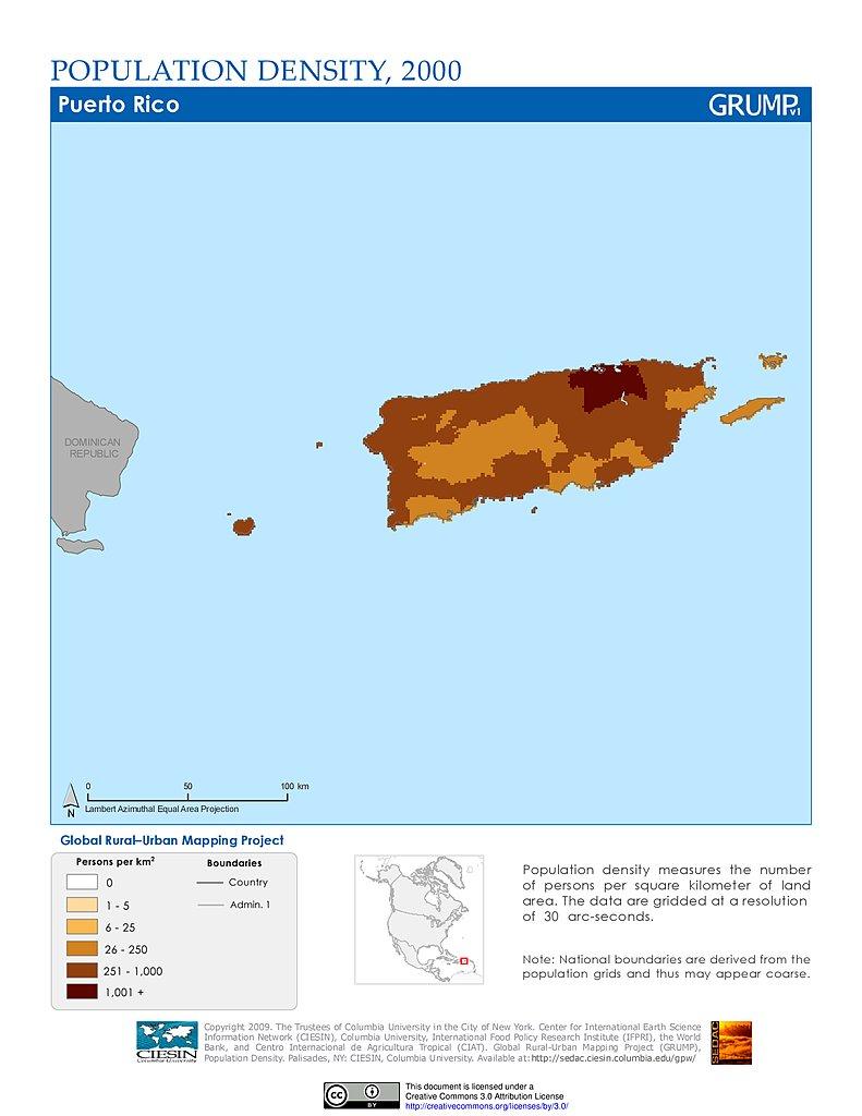 Maps » Global Rural-Urban Mapping Project (GRUMP), v1 | SEDAC