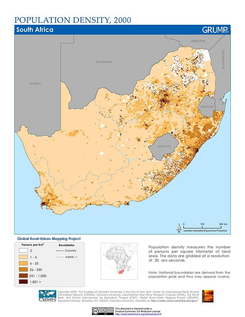Maps Global Rural Urban Mapping Project GRUMP v1 SEDAC