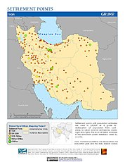 Map: Settlement Points: Iran