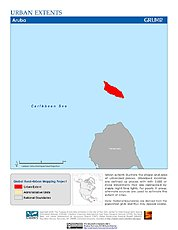 Map: Urban Extents: Aruba
