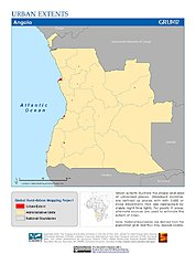 Map: Urban Extents: Angola