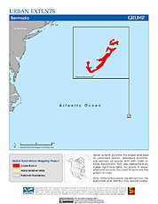 Map: Urban Extents: Bermuda