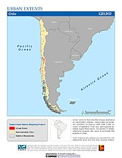Map: Urban Extents: Chile