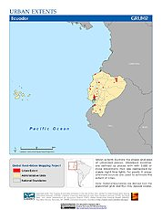 Map: Urban Extents: Ecuador