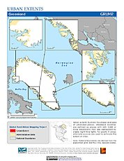 Map: Urban Extents: Greenland