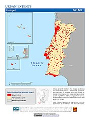 Map: Urban Extents: Portugal