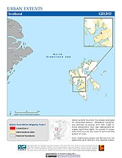 Map: Urban Extents: Svalbard