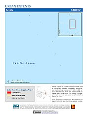Map: Urban Extents: Tuvalu