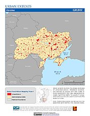 Map: Urban Extents: Ukraine