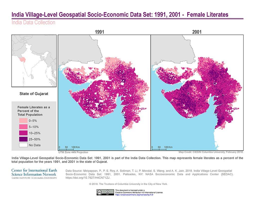 Map Of New York 2001.Maps India Data Collection Sedac