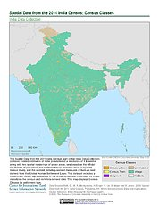 Map: India Census (2011): Census Classes