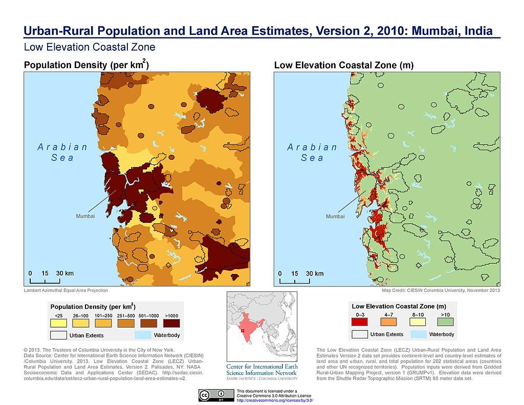 Mumbai Population 2017