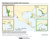 Map: Mangrove Forests Distribution (2000): Central America