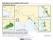 Map: Mangrove Forests Distribution (2000): South Asia