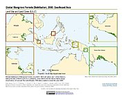 Map: Mangrove Forests Distribution (2000): Southeast Asia