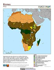 Map: Biomes: Africa