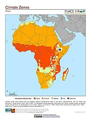 Map: Climate Zones: Africa