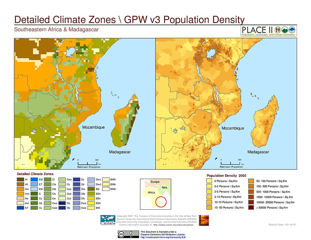 Climate Zone Map Of Asia.Maps National Aggregates Of Geospatial Data Collection Nagdc Sedac