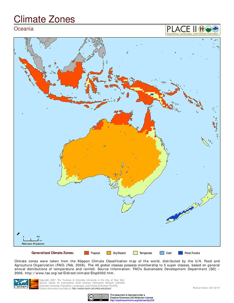 Maps population landscape and climate estimates place v2 sedac climate zones oceania gumiabroncs Image collections