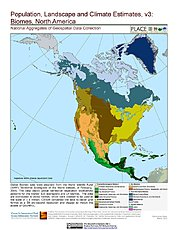 Map: Biomes: North America