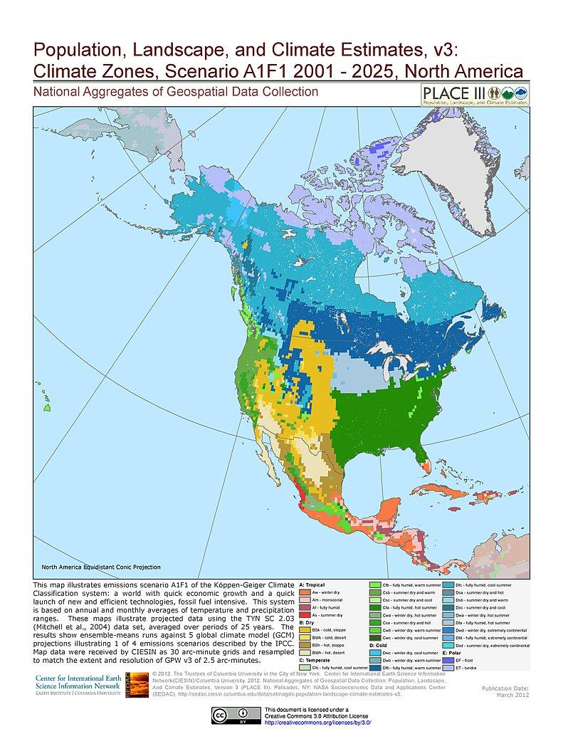 Maps Population Landscape And Climate Estimates PLACE v3 SEDAC
