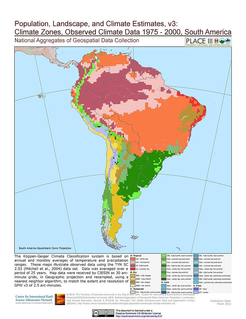 Map Gallery | SEDAC