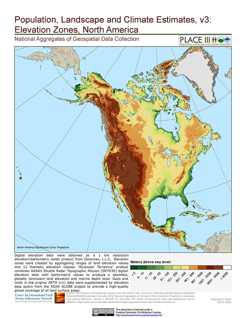 Maps Population Landscape And Climate Estimates PLACE v3 SEDAC