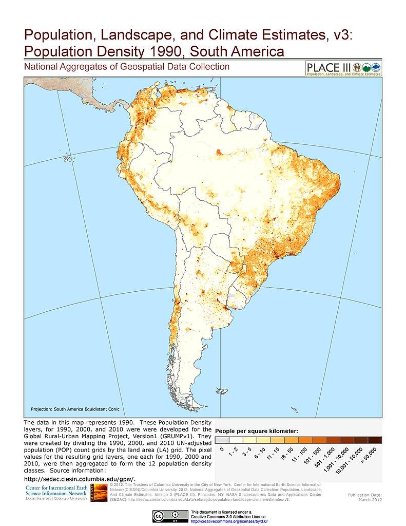 Maps  Population Landscape And Climate Estimates PLACE v3