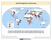 Map: Drought Hazard Frequency & Distribution