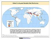 Map: Earthquake Mortality Risks & Distribution