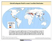 Map: Earthquake Total Economic Loss Risk Deciles