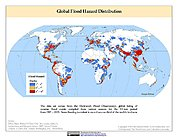Map: Flood Hazard Frequency & Distribution