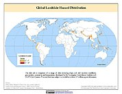 Map: Landslide Hazard Distribution