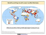 Map: Multihazard Proportional Economic Loss Risk Deciles